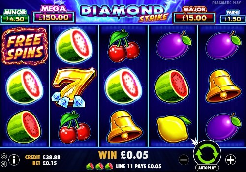Diamond Strike UK slot game