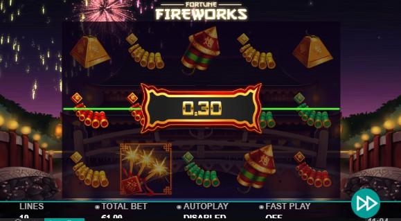 Fortune Fireworks UK slot game