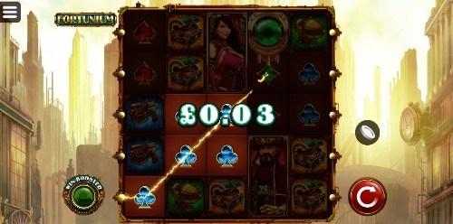 Fortunium UK slot game