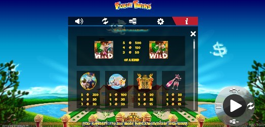 Foxin Twins UK slot game