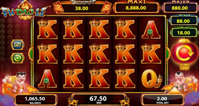 Fu Dao Le UK slot game