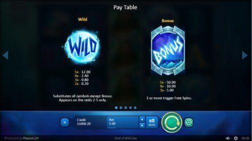 God of Wild Sea UK slot game