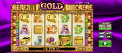 Gold UK slot game