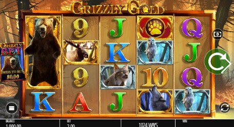 Grizzly Gold UK slot game