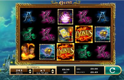 Gypsy UK slot game