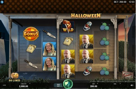 Halloween UK slot game