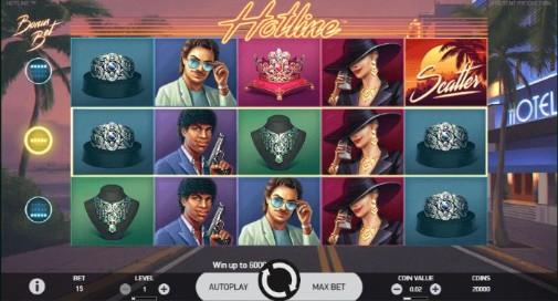 Hotline UK slot game