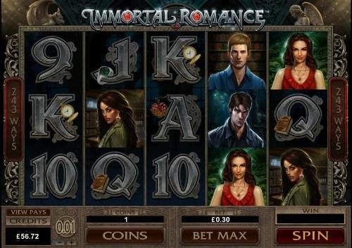 Immortal Romance Slot Uk