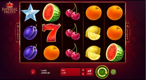 Imperial Fruits: 5 lines UK slot game