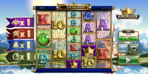 Kingmaker UK slot game
