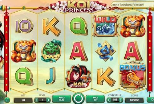 Koi Princess UK slot game