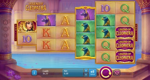 Legends of Cleopatra UK slot game