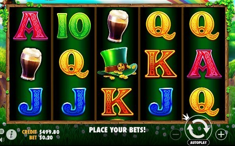 Leprechaun Song UK slot game
