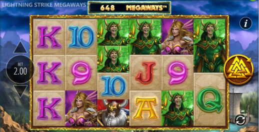 Lightning Strike Megaways UK slot game