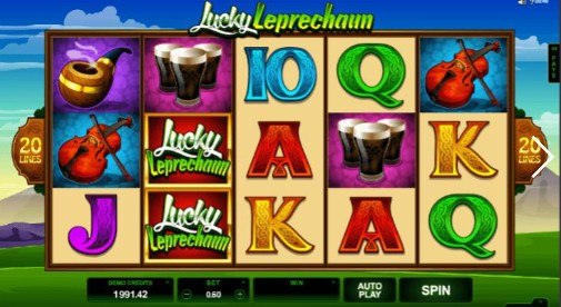 Lucky Leprechaun UK Slots