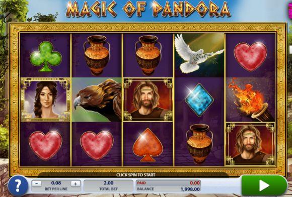 Magic of Pandora UK slot game
