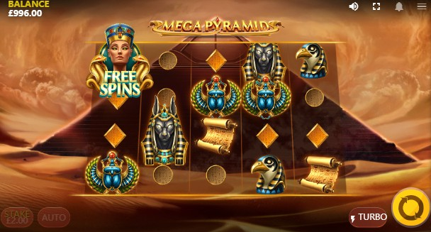 Mega Pyramid UK slot game