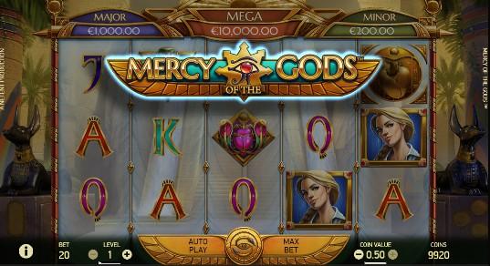 Mercy of the Gods UK slot game