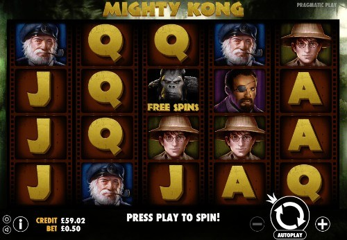Mighty Kong UK slot game