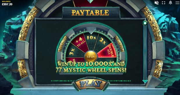 Mystic Wheel UK slot game