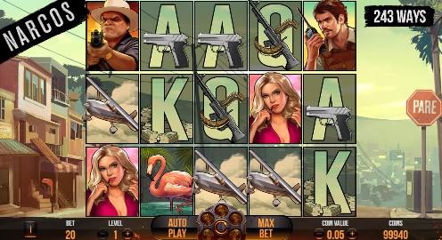 Narcos UK slot game