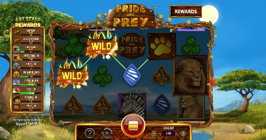 Pride and Prey UK slot game