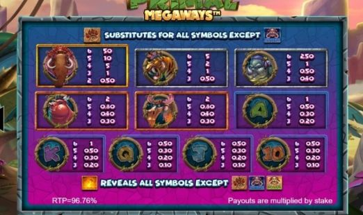 Primal Megaways UK slot game