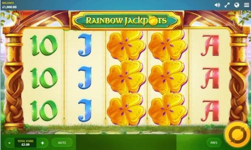 Rainbow Jackpots UK slot game
