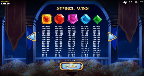Royal Gems UK slot game