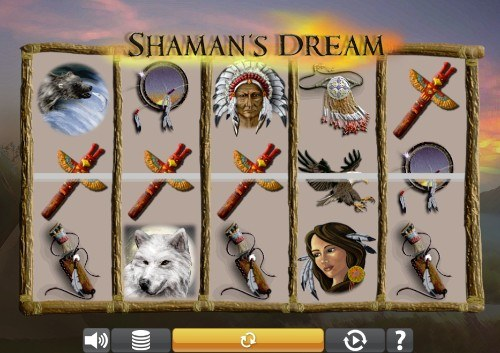 shamans dream UK slot game