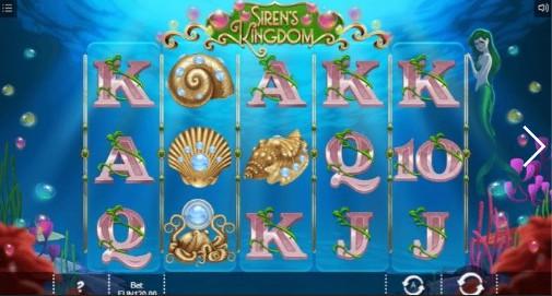 Siren's Kingdom UK slot game