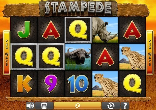 Stampede UK slot game