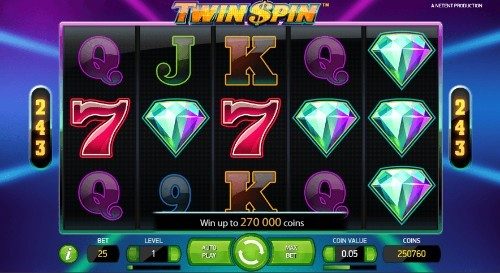 Twin Spin UK slot game
