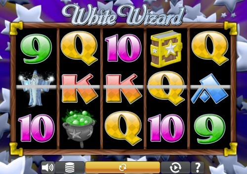 White Wizard UK slot game