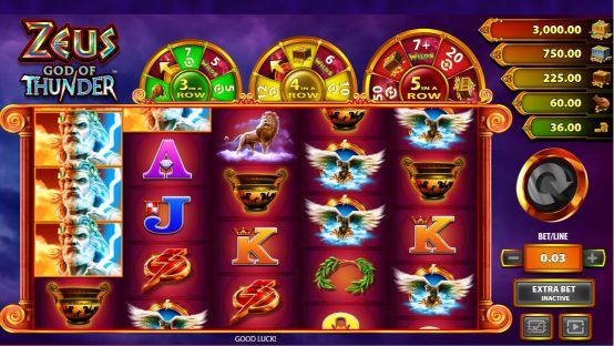 Zeus God Of Thunder UK slot game